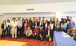 プレ会議に参加した各国のNGOメンバー