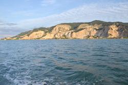 小豆島の灘山採石場