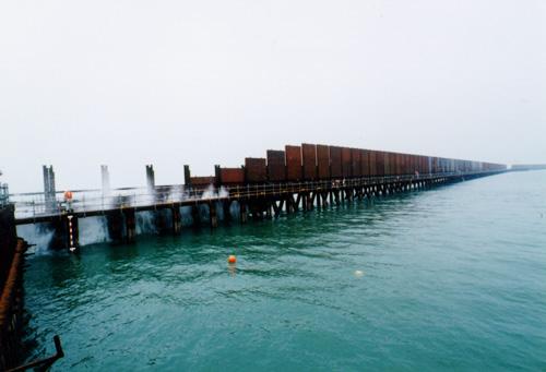 1997年4月14日の諫早湾閉め切り