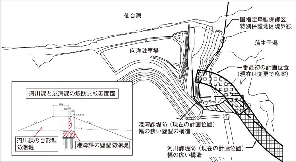 蒲生干潟図1