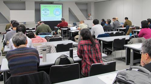全国集会in東京臨海副都心の会場の様子