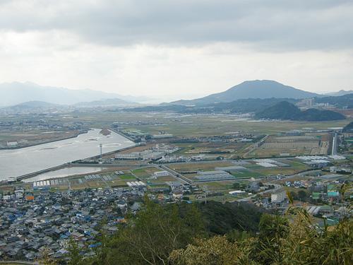 今津干潟周辺の後背地の様子(2009年頃撮影)
